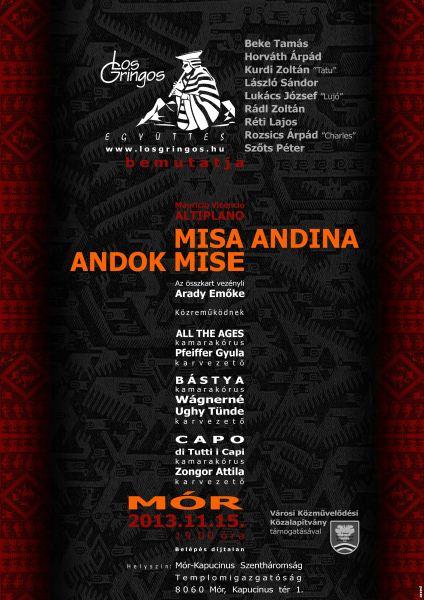 MISA ANDINA - ANDOK MISE Koncert Mór